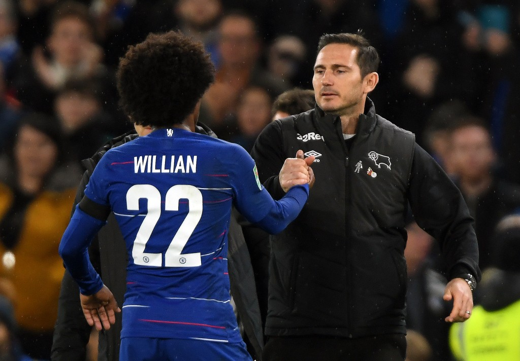 Lampard keen to tie Willian down to a new contract (Photo by Mike Hewitt/Getty Images)