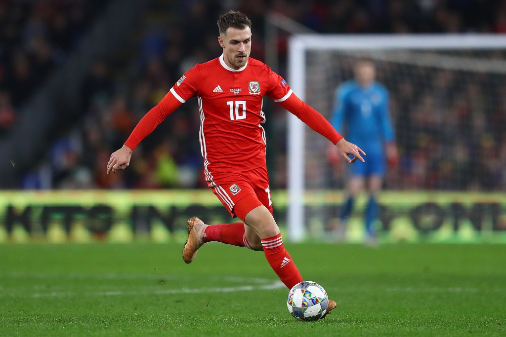 Aaron Ramsey's fitness is a matter of concern for Ryan Giggs. (Photo by Michael Steele/Getty Images)