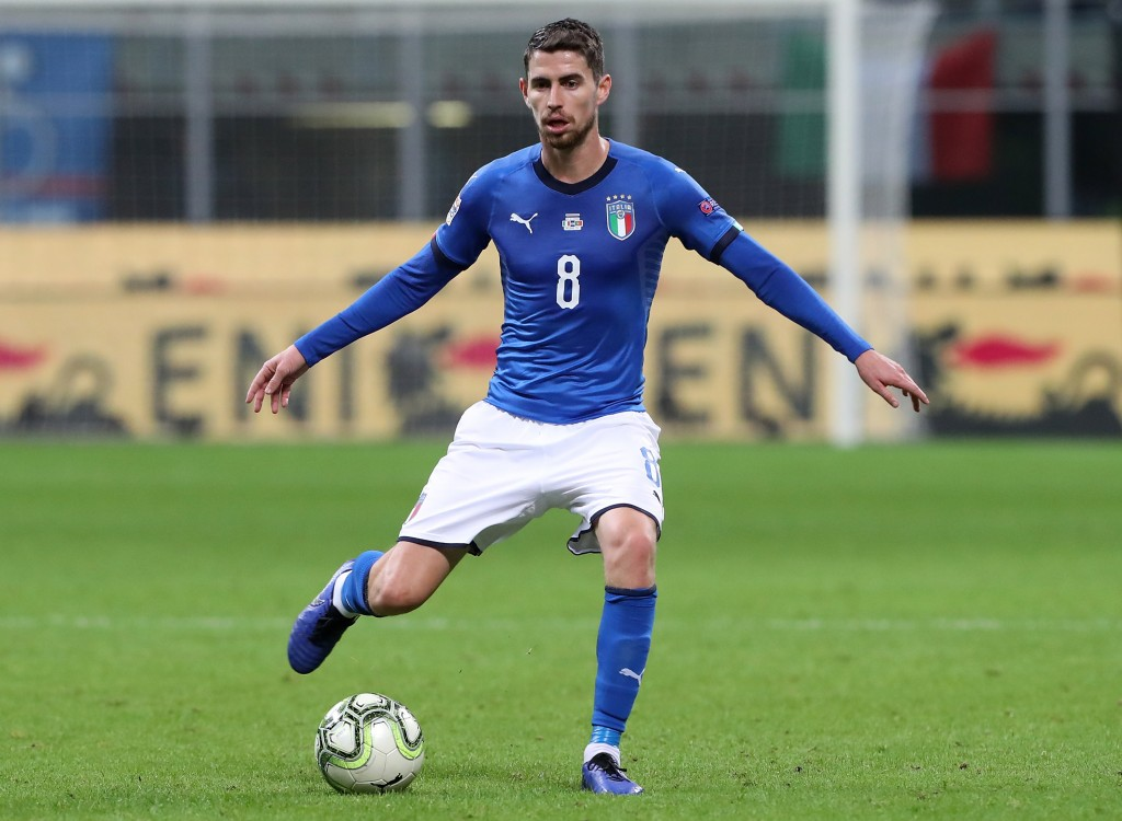 Time to boss the midfield in Italian colours. (Photo by Marco Luzzani/Getty Images)
