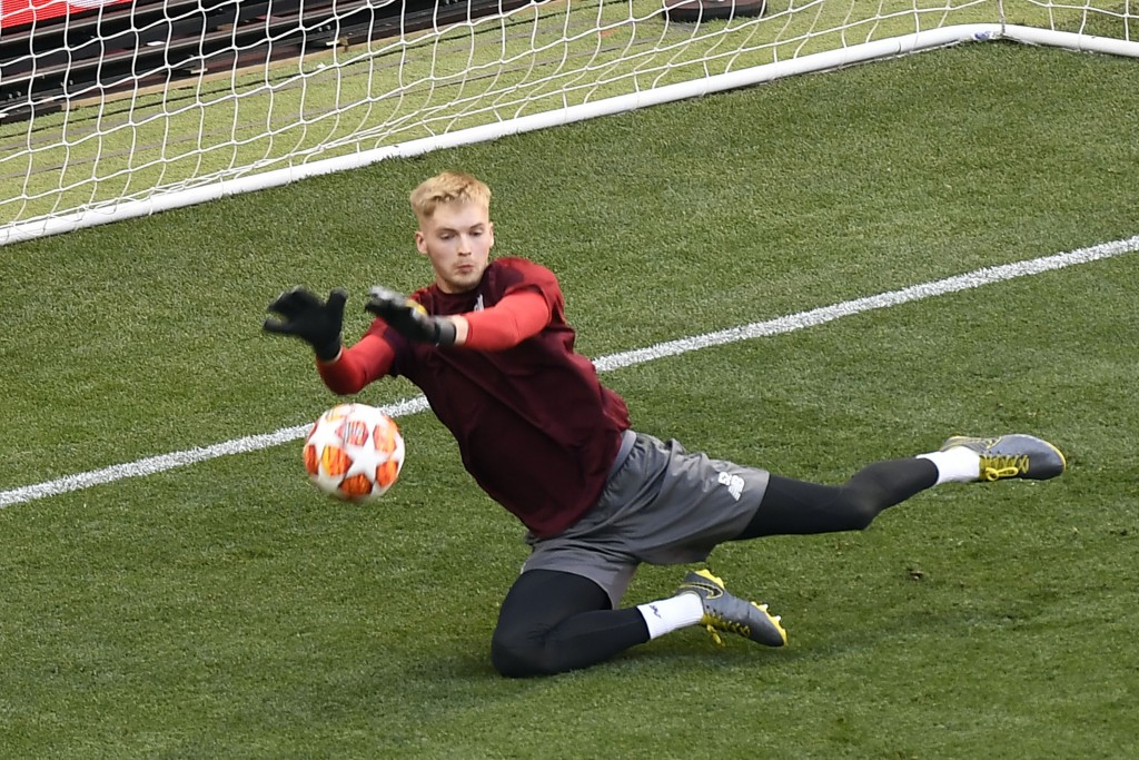 Caoimhin Kelleher ought to have been loaned out by Liverpool. (Photo by Pierre-Philippe Marcou/AFP/Getty Images)
