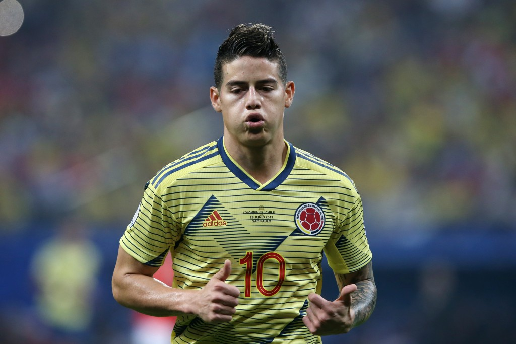 James Rodriguez has reportedly opted of the Colombia squad to concentrate on his Real Madrid career. (Photo by Alexandre Schneider/Getty Images)