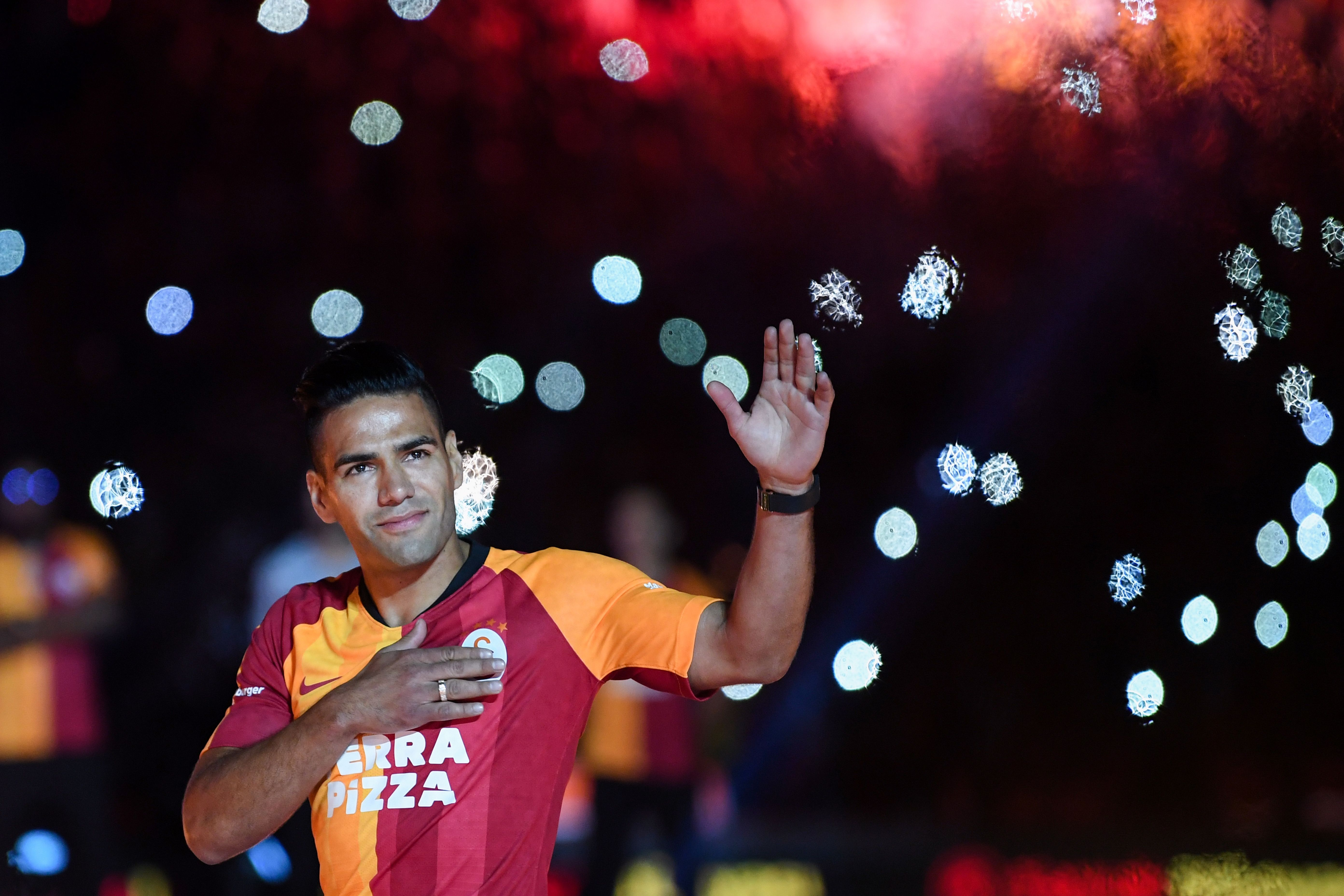 Radamel Falcao's experience will be key for Galatasaray (Photo by Ozan Kose/AFP/Getty Images)