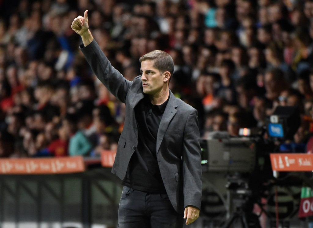 Robert Moreno will be looking for his third win as Spain manager (Photo by MIGUEL RIOPA/AFP/Getty Images)