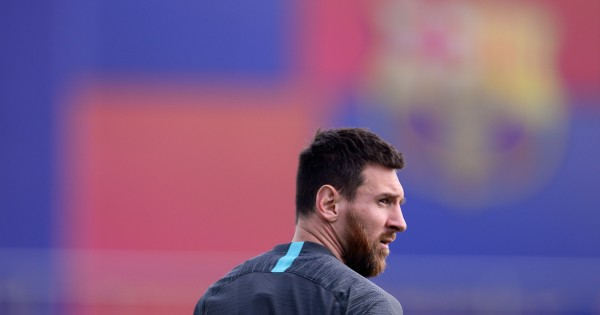 Lionel Messi is in contention to feature. (Photo by Pau Barrena/AFP/Getty Images)