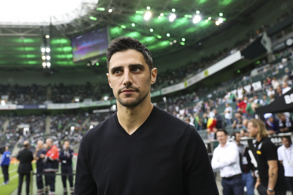 Lars Stindl, Gladbach's captain. (Photo by Maja Hitij/Bongarts/Getty Images)