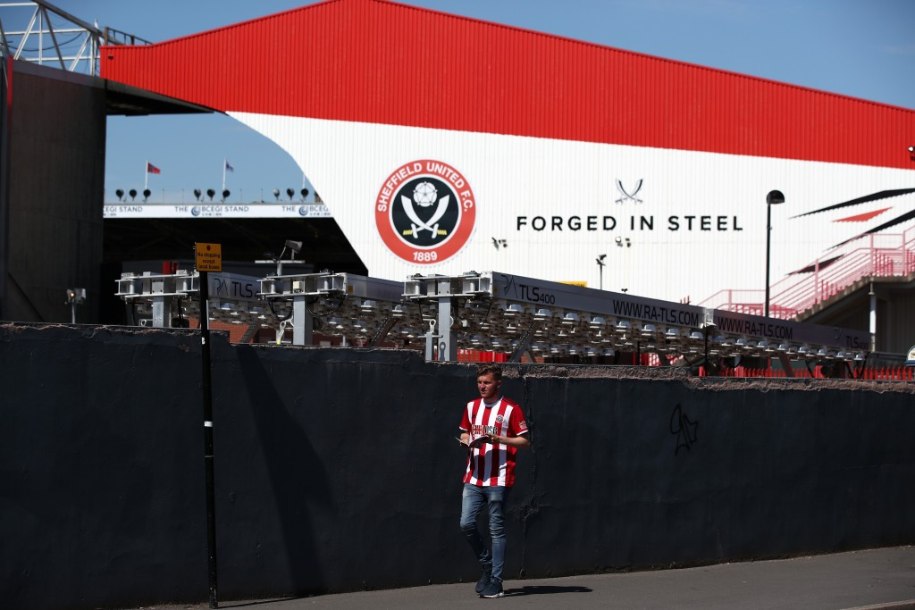 Could Bramall Lane be becoming a regular in the Premier League in the years to come? (Photo by Marc Atkins/Getty Images)