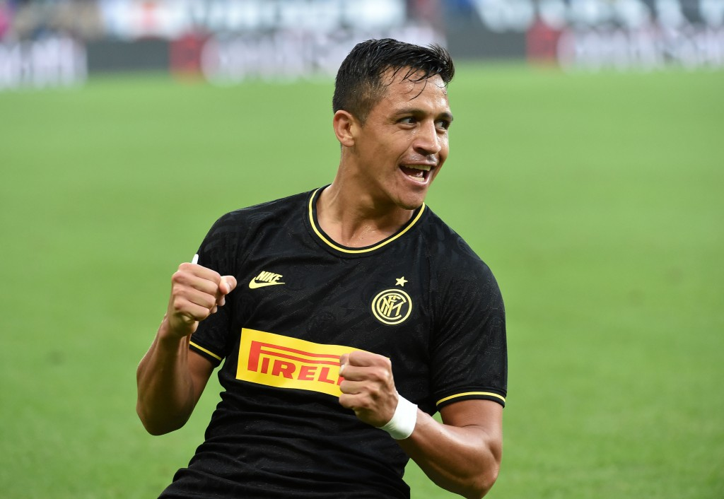 Alexis Sanchez has joined Inter Milan on a permanent deal. (Photo by Paolo Rattini/Getty Images)
