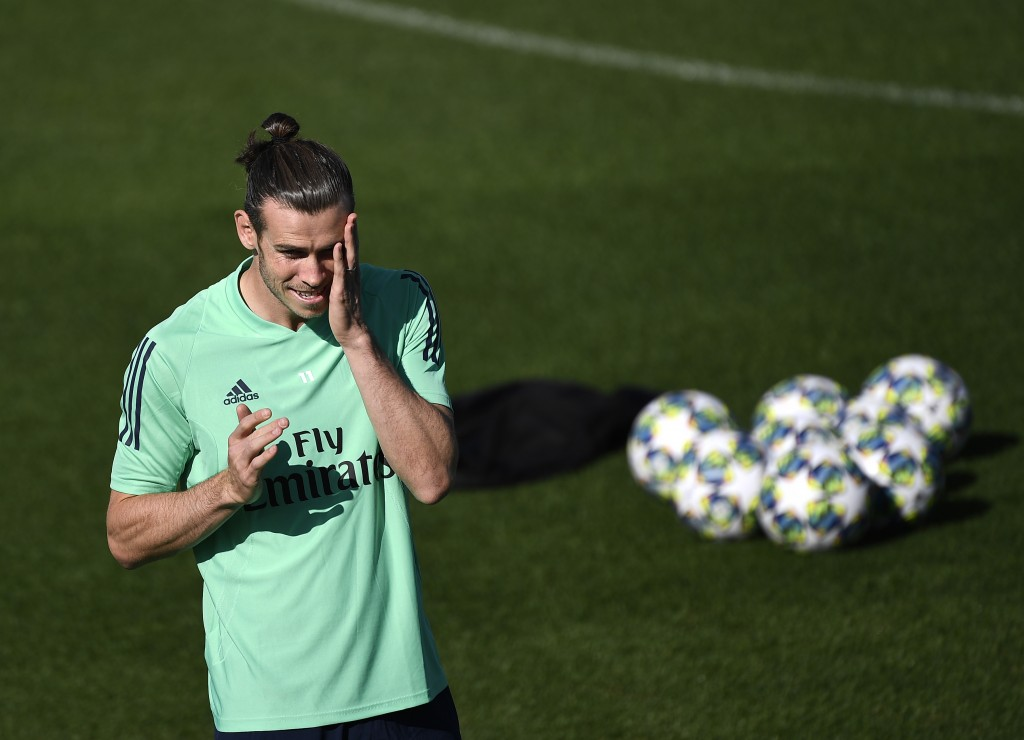 Bale will not be involved on Tuesday (Photo by PIERRE-PHILIPPE MARCOU/AFP/Getty Images)