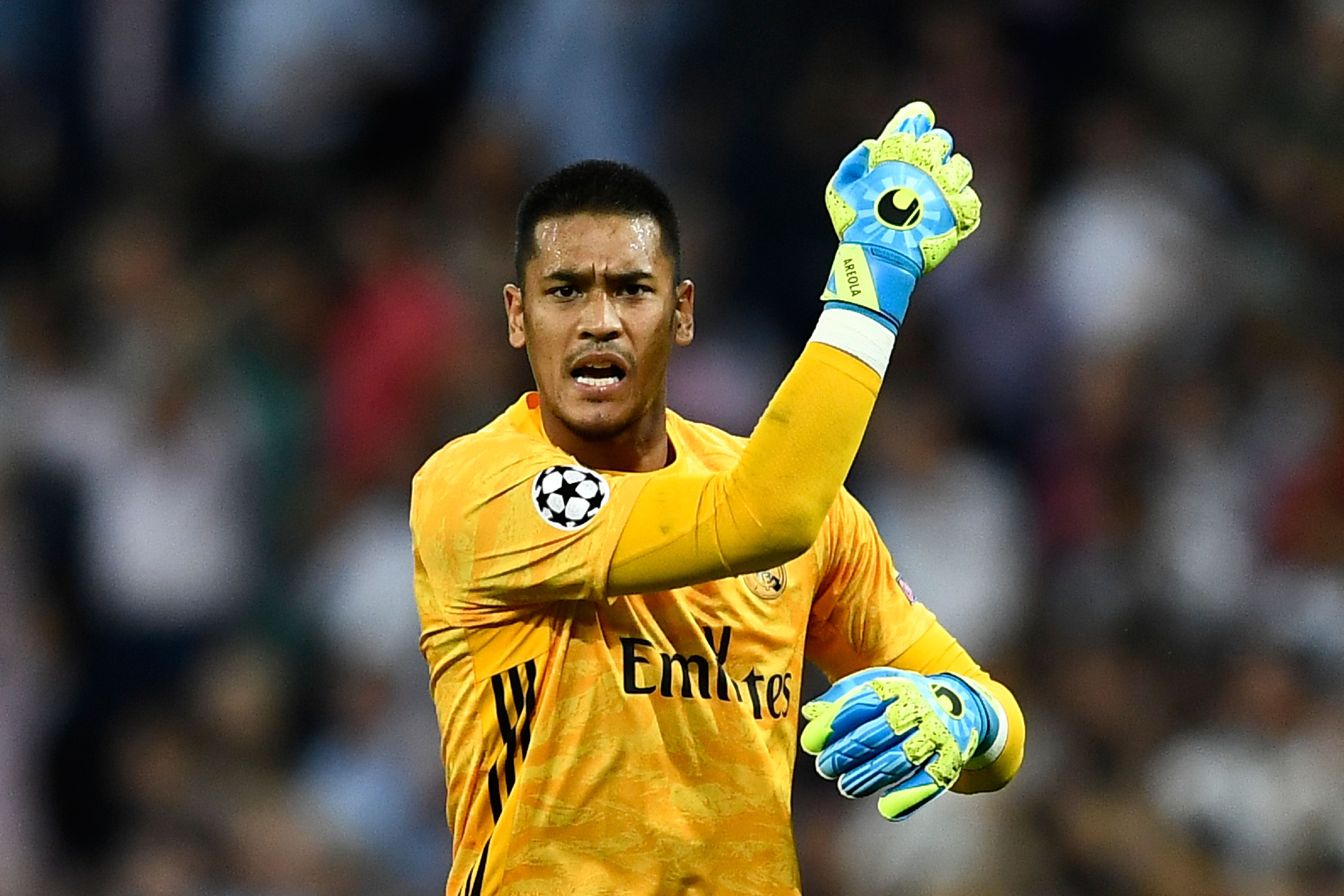 Alphonse Areola is in line to make his Premier League debut against Leeds (Photo by OSCAR DEL POZO/AFP/Getty Images)