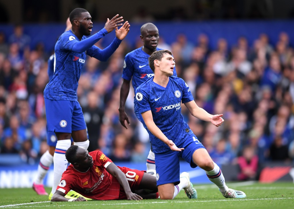 Christensen will be Tomori's central defensive partner, while Kante might be rested. (Photo by Laurence Griffiths/Getty Images)