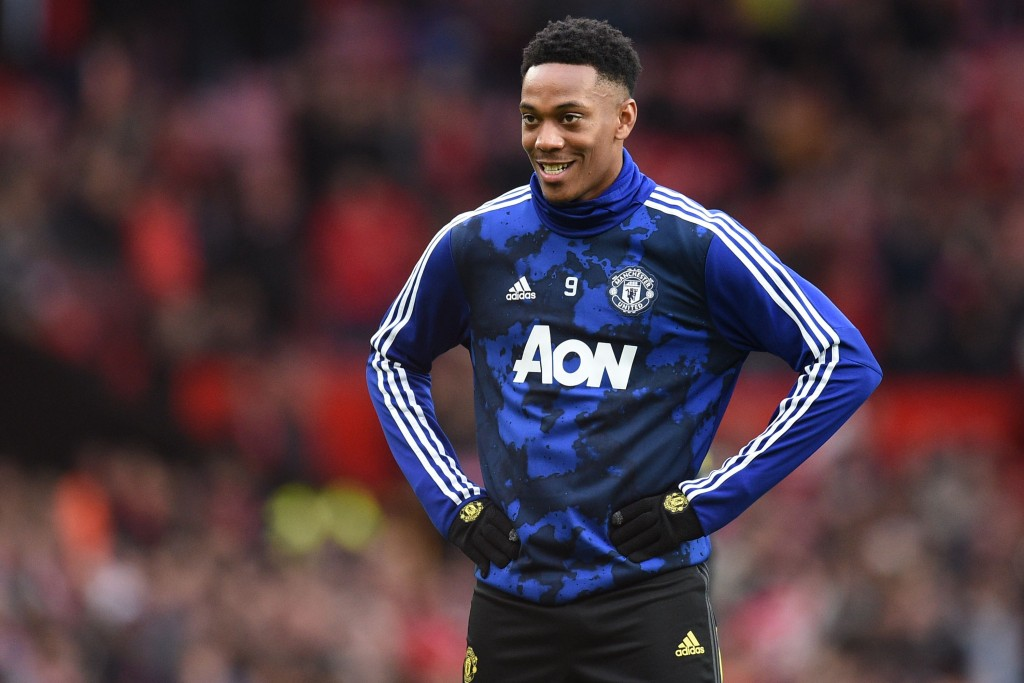 Anthony Martial could miss out for Manchester United against Brighton & Hove Albion. (Photo by Oli Scarff/AFP via Getty Images)