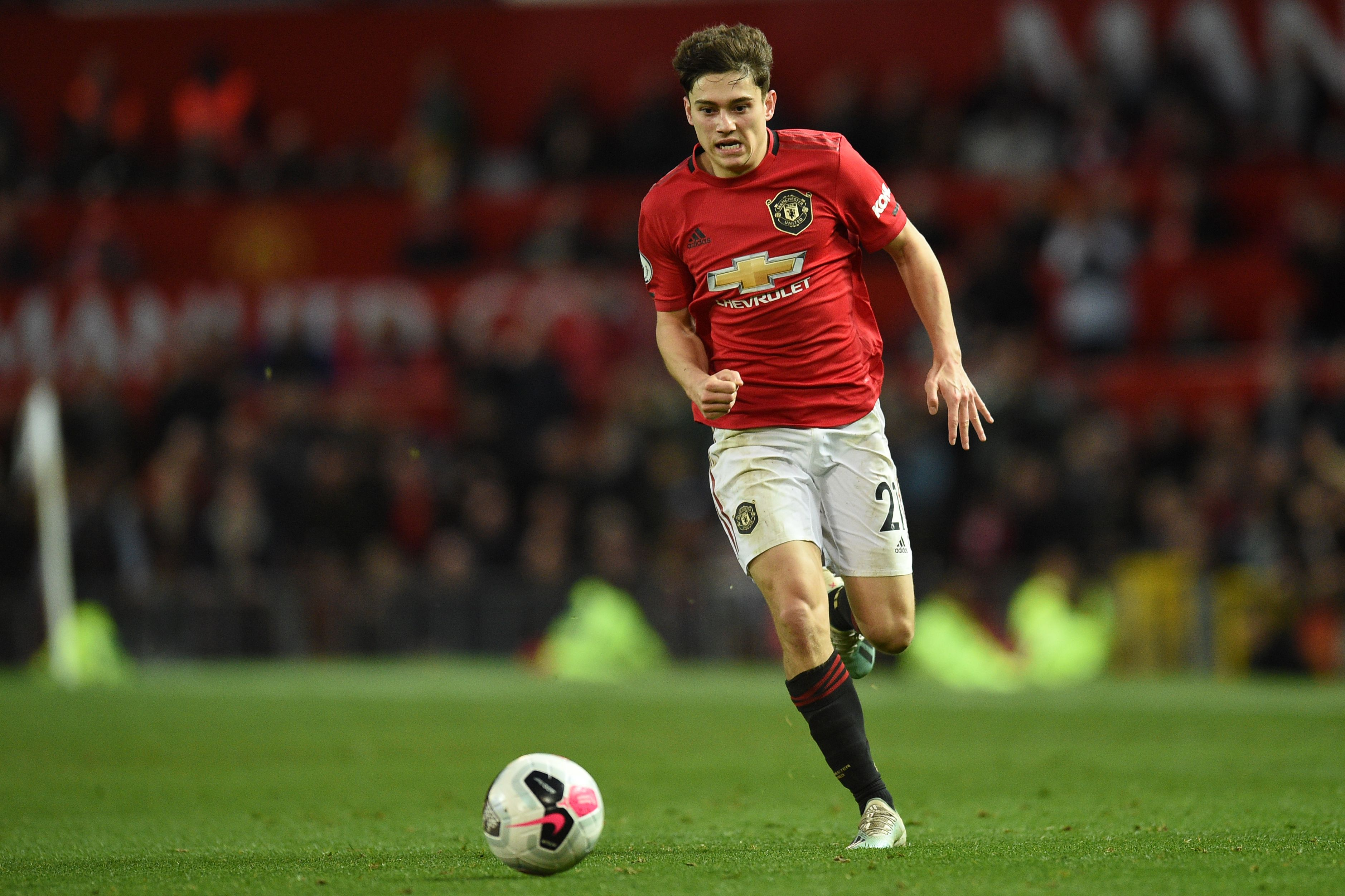 Ryan Giggs has compared Daniel James to Cristiano Ronaldo (Photo by OLI SCARFF/AFP via Getty Images)