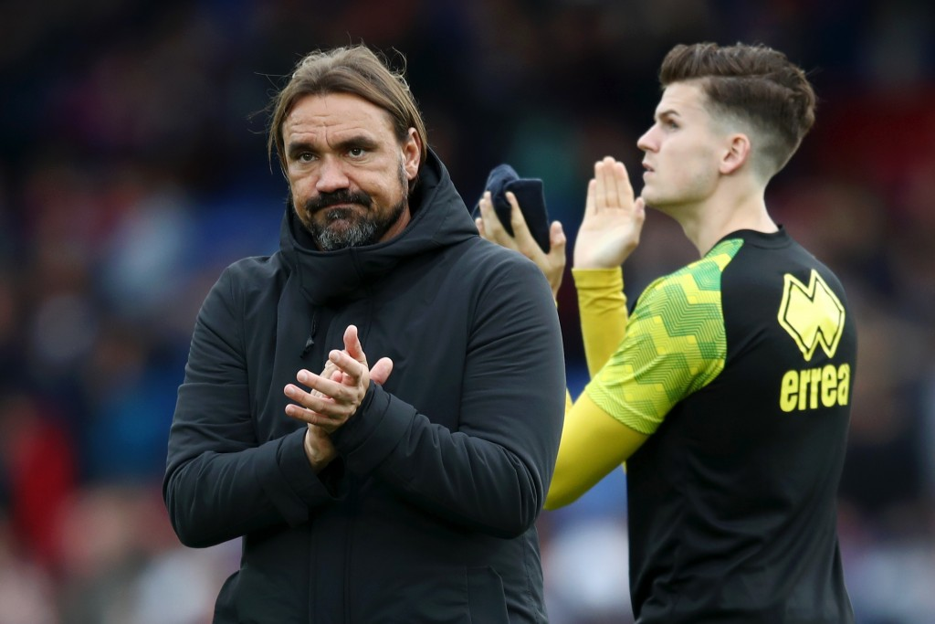 Can Daniel Farke mastermind a win against Manchester United? (Photo by Bryn Lennon/Getty Images)