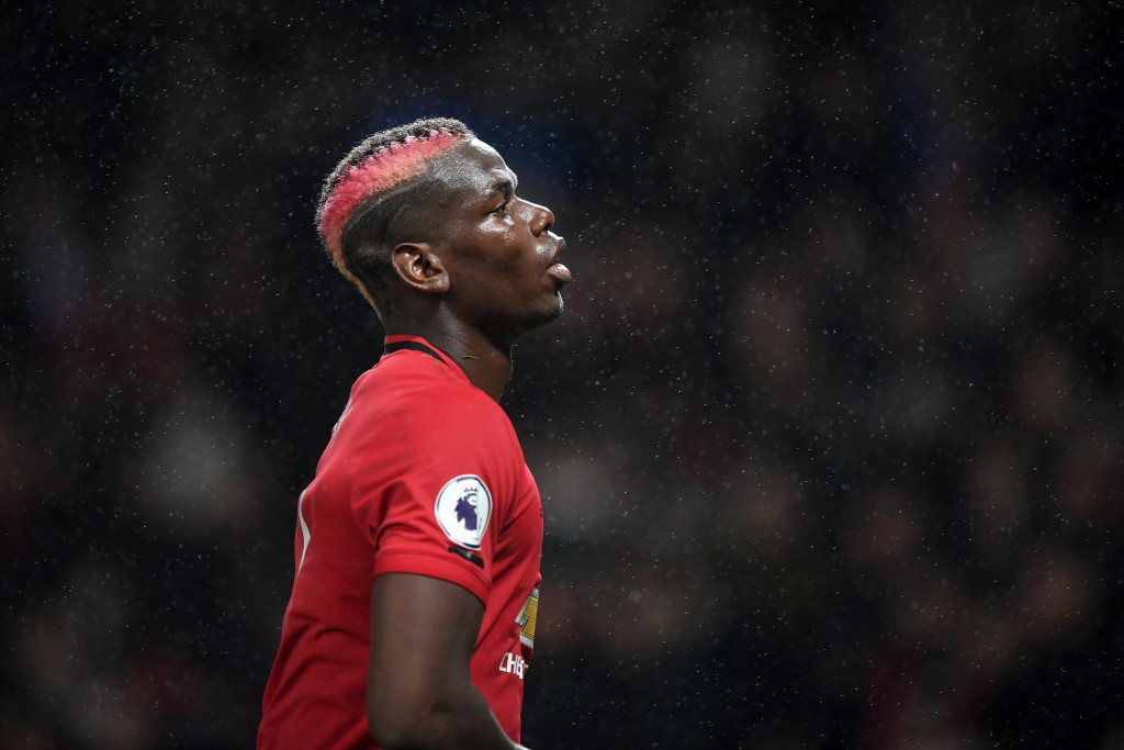 Pogba kicked up the hornet's nest by claiming he wanted a new challenge in the summer (Photo by Michael Regan/Getty Images)