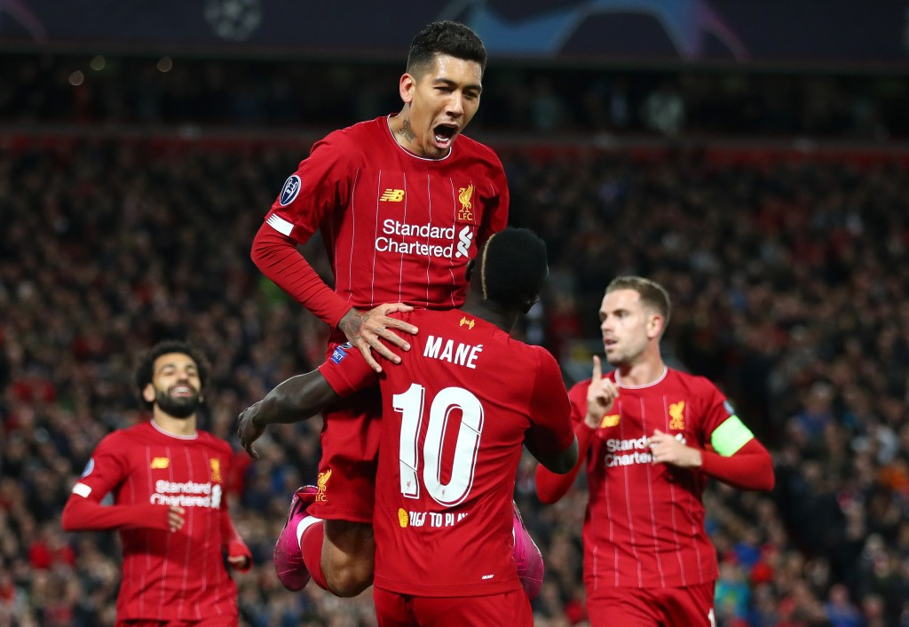 Firmino and Mane were brilliant on the night (Photo by Clive Brunskill/Getty Images)