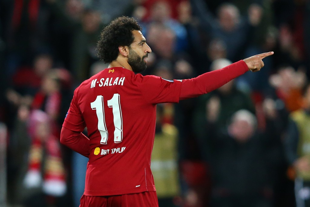 Salah comes up with the goods for Liverpool (Photo by Alex Livesey/Getty Images)