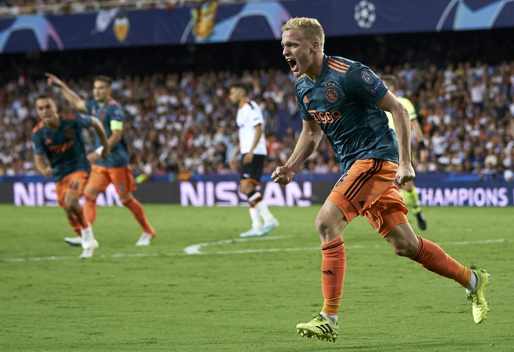 Manchester United snubbed a chance to sign Donny van de Beek (Photo by Manuel Queimadelos Alonso/Getty Images)