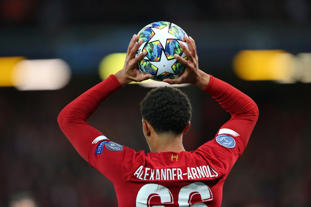 Trent Alexander-Arnold is set to return. (Photo by Alex Livesey/Getty Images)