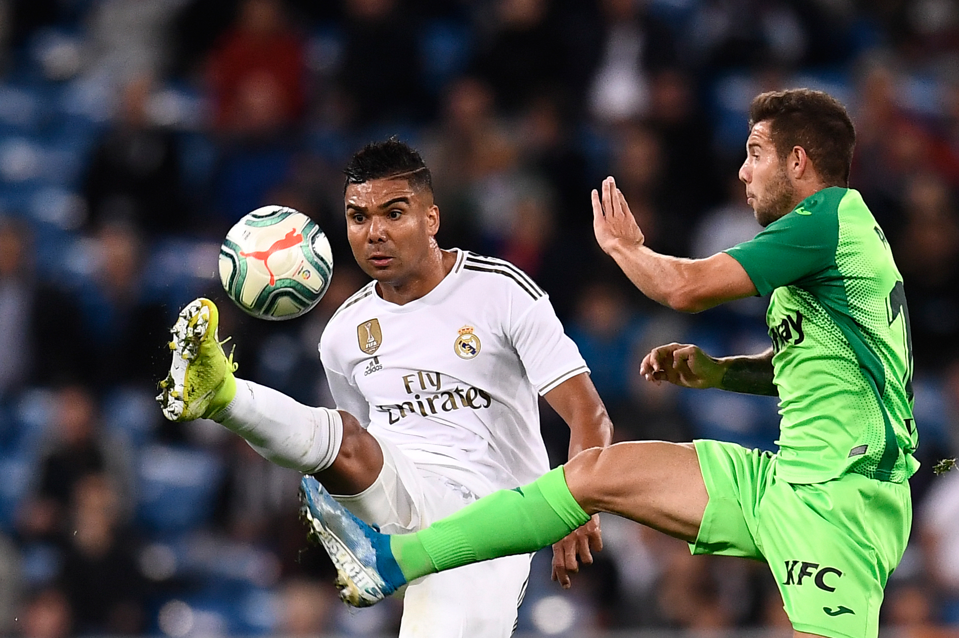 Real Madrid's Mr. Consistent (Photo by OSCAR DEL POZO/AFP via Getty Images)