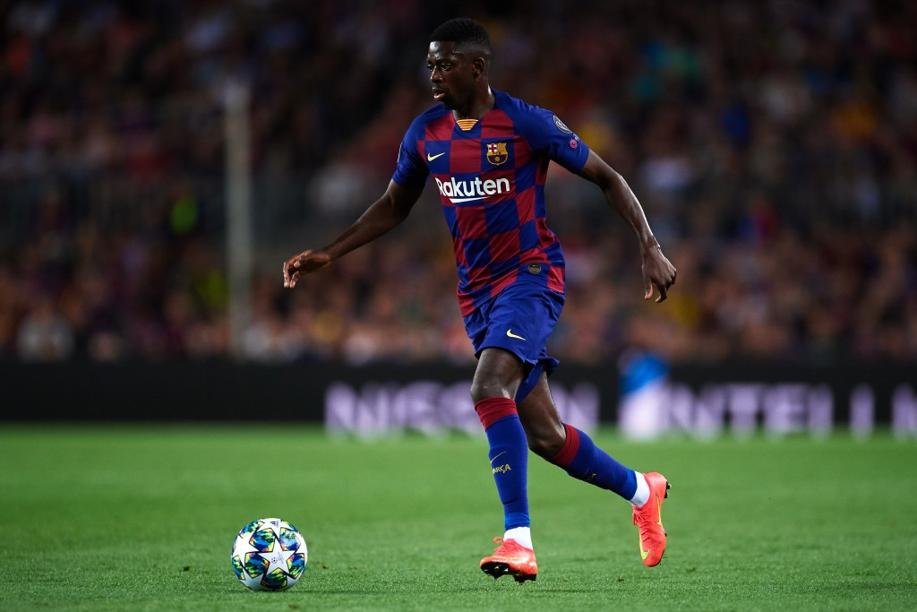 A chance for Dembele to reclaim his starting spot (Photo by Alex Caparros/Getty Images)