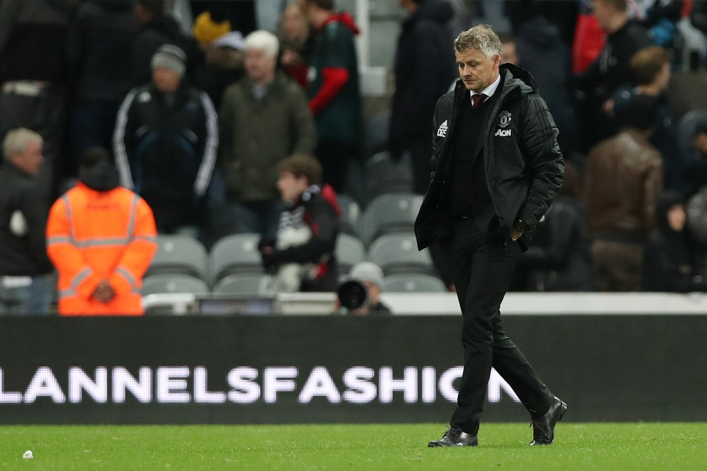 Times are gloomy for Ole Gunnar Solskjaer and Manchester United. (Photo by Ian MacNicol/Getty Images)