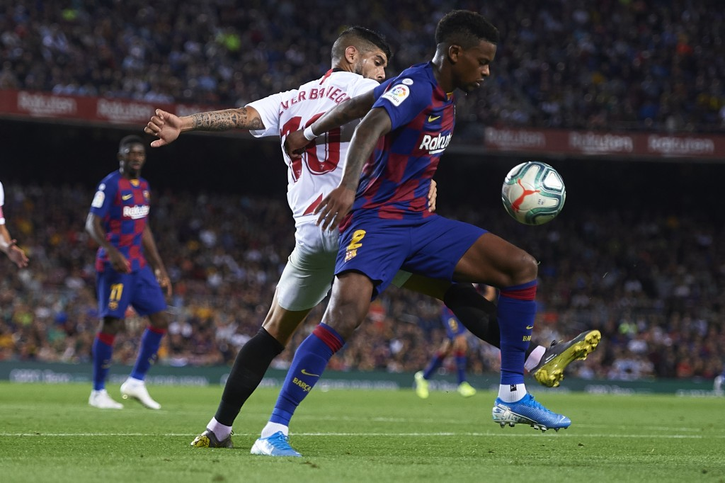 Semedo impressed at left-back (Photo by Aitor Alcalde/Getty Images)