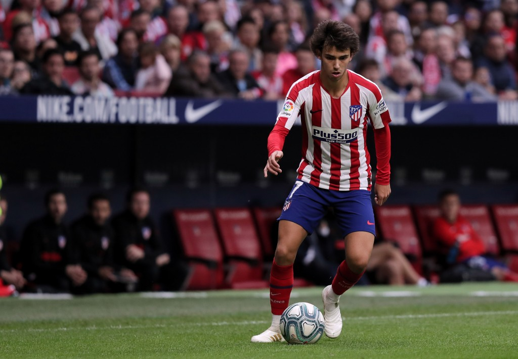 Ballon d'Or nominee Joao Felix is a doubt for Atletico Madrid (Photo by Gonzalo Arroyo Moreno/Getty Images)
