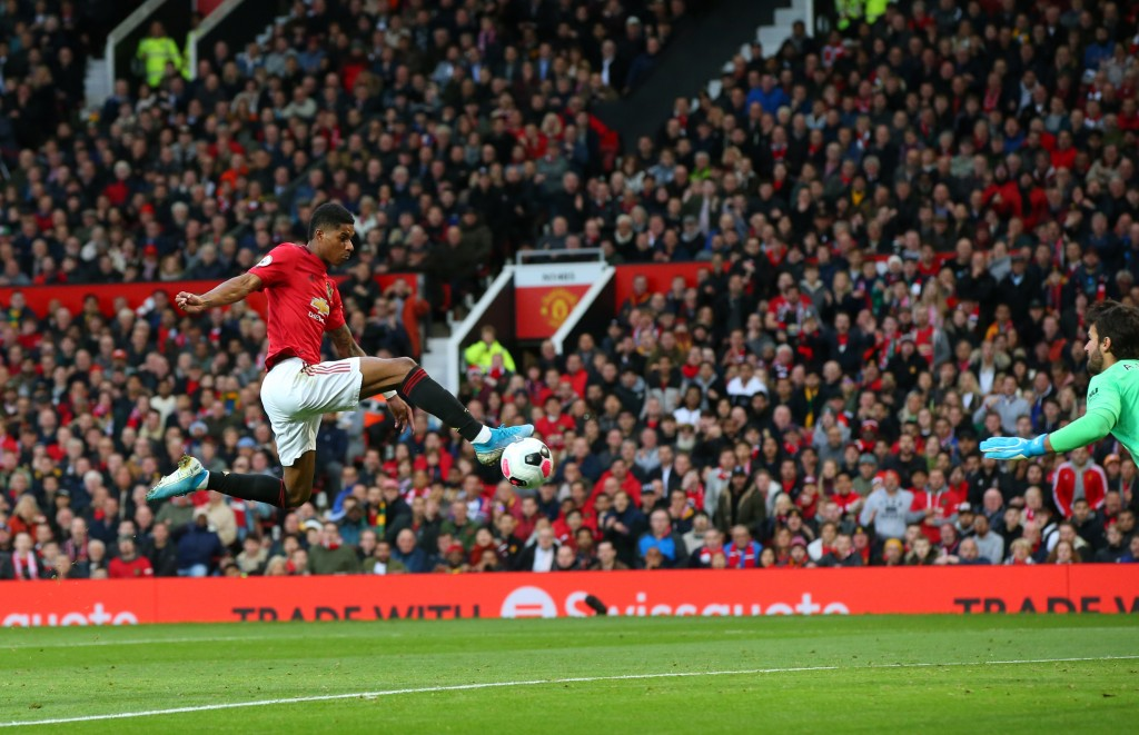 Rashford scored for Manchester United (Photo by Alex Livesey/Getty Images)