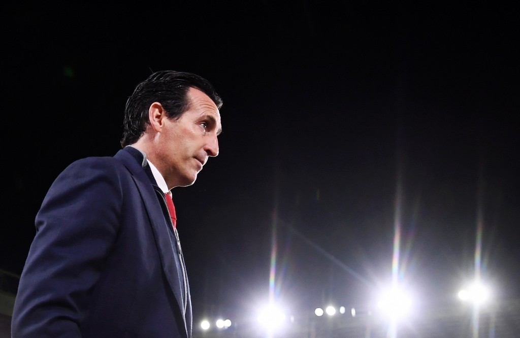 Unai Emery will ring in the changes against Vitoria. (Photo by Laurence Griffiths/Getty Images)