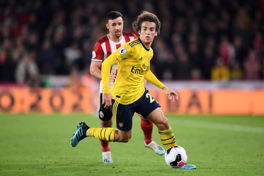 Guendouzi gave a good account of himself. (Photo by Laurence Griffiths/Getty Images)