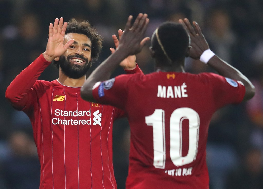 Both Salah and Mane got a goal and an assist apiece (Photo by Catherine Ivill/Getty Images)