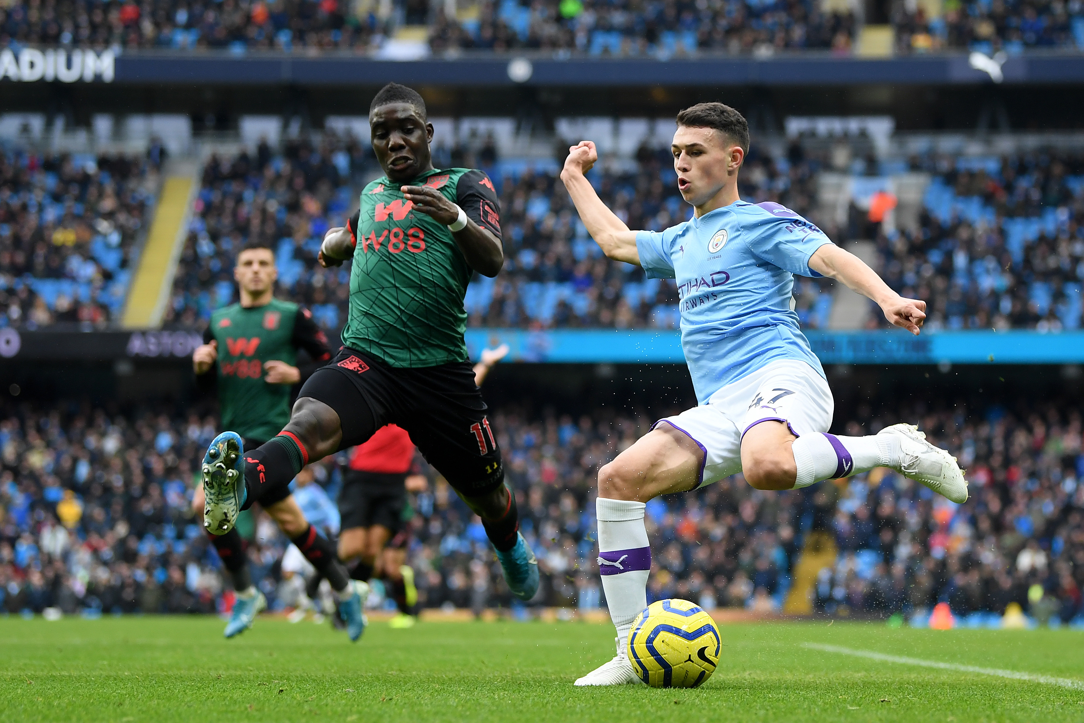 Phil Foden has struggled for game time (Photo by Michael Regan/Getty Images)