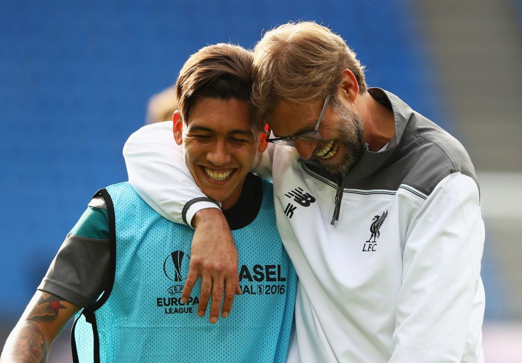 Klopp has transformed Firmino. (Photo by Michael Steele/Getty Images)