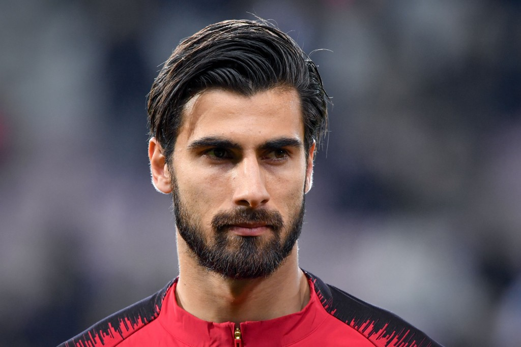 Andre Gomes is back in the Portugal squad (Photo by FABRICE COFFRINI/AFP/Getty Images)