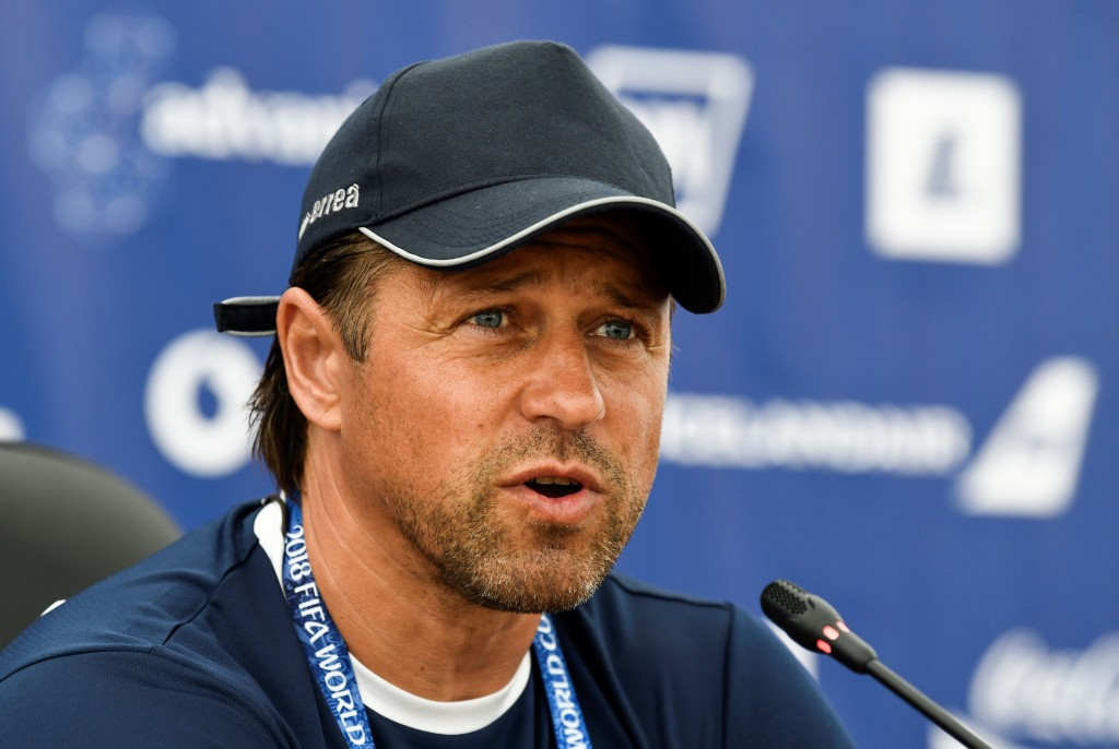 Can Helgi Kolvidsson & co. shock Italy? (Photo by Jonathan Nackstrand/AFP/Getty Images)