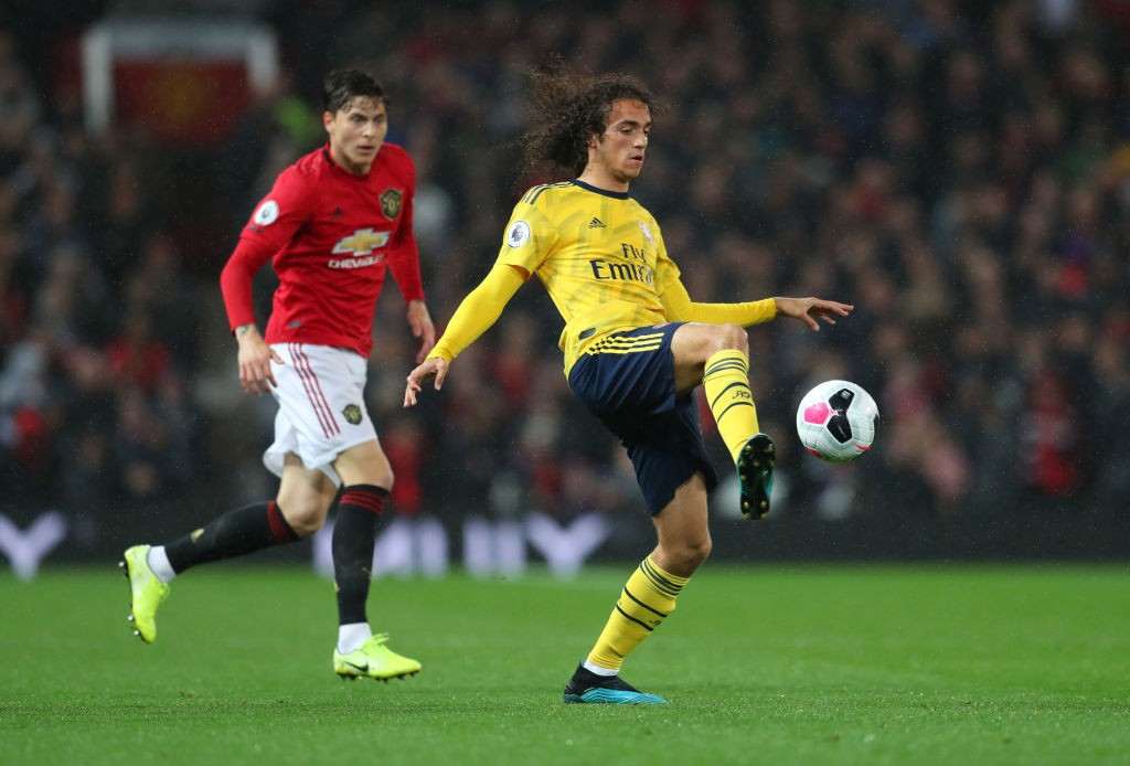 Another terrific performance in midfield from Guendouzi. (Photo courtesy: AFP/Getty)
