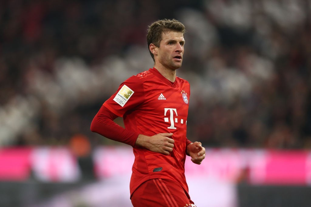 Muller has been brought to life under Hansi Flick. (Photo by Alexander Hassenstein/Bongarts/Getty Images)