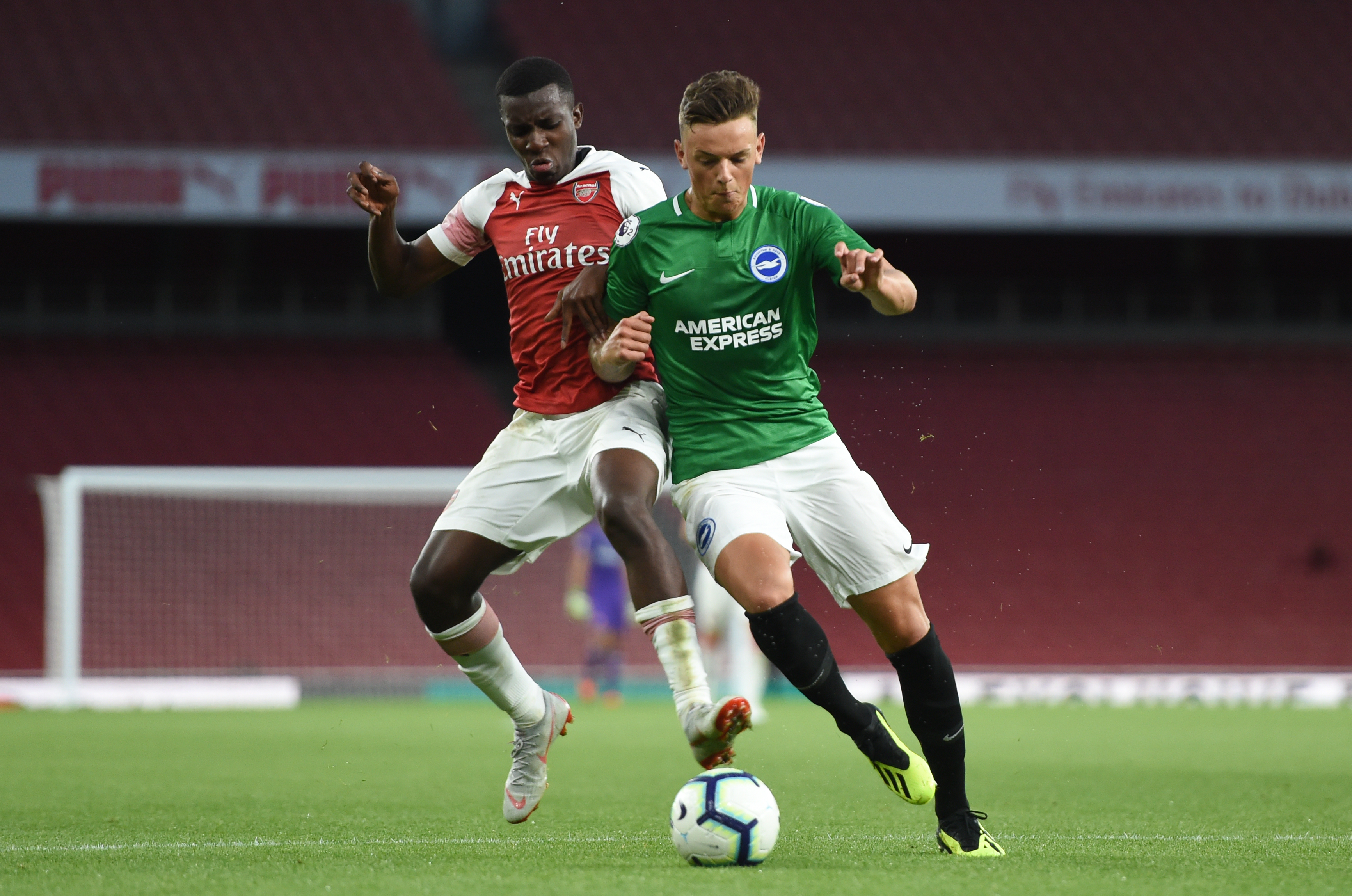 Ben White on his way to Arsenal? (Picture Courtesy - AFP/Getty Images)