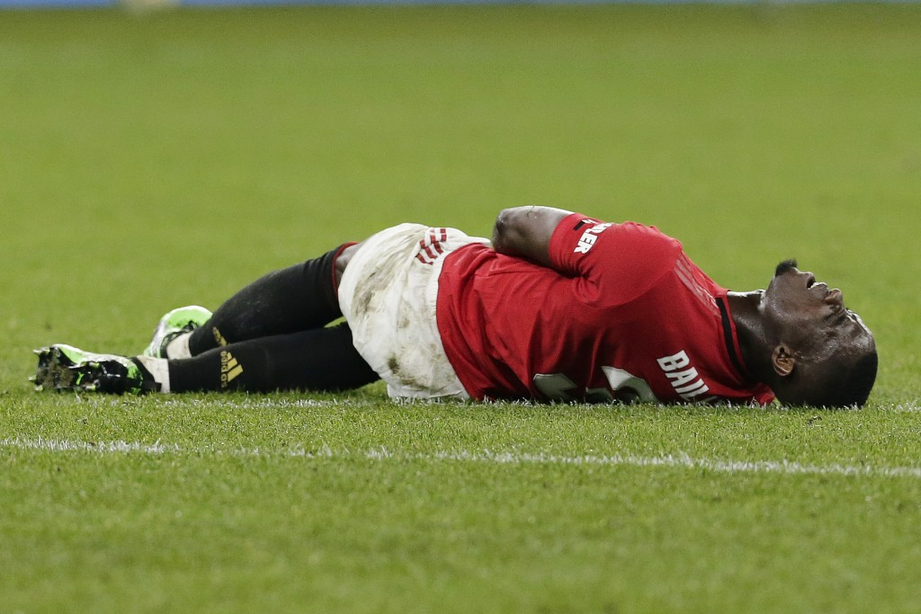 Bailly is currently sidelined with a knee injury. (Photo by Will Russell/Getty Images)