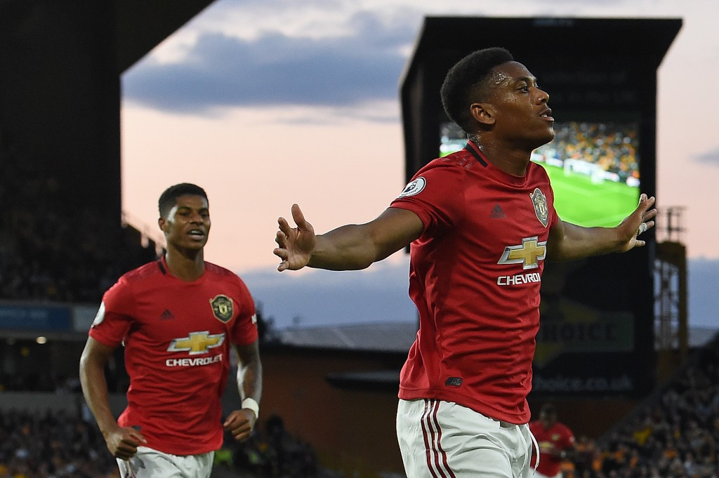 Will Rashford follow Anthony Martial into scoring bagful of goals again? (Photo by Paul Ellis/AFP via Getty Images)