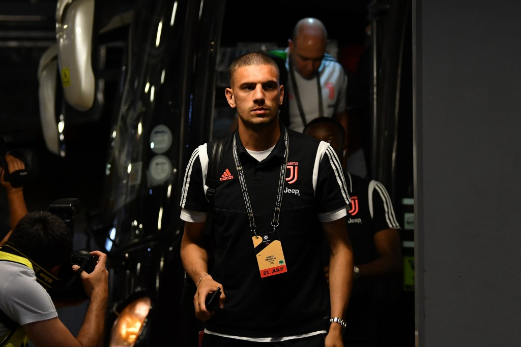Merih Demiral is not enjoying his stay at Juventus so far. (Picture Courtesy - AFP/Getty Images)
