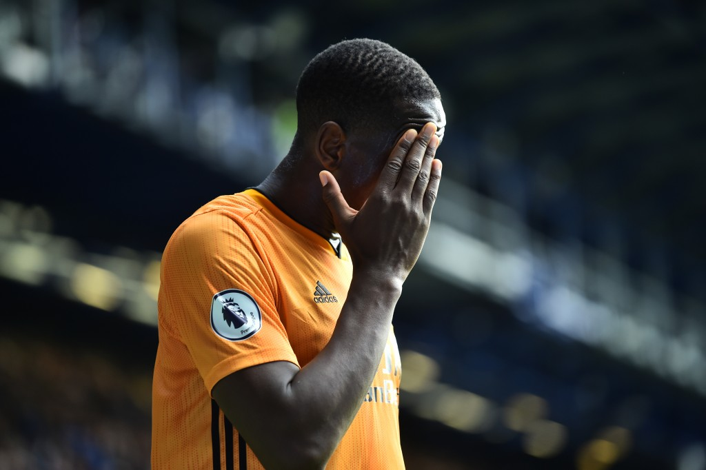 Willy Boly remains unavailable for Wolves. (Photo by Nathan Stirk/Getty Images)