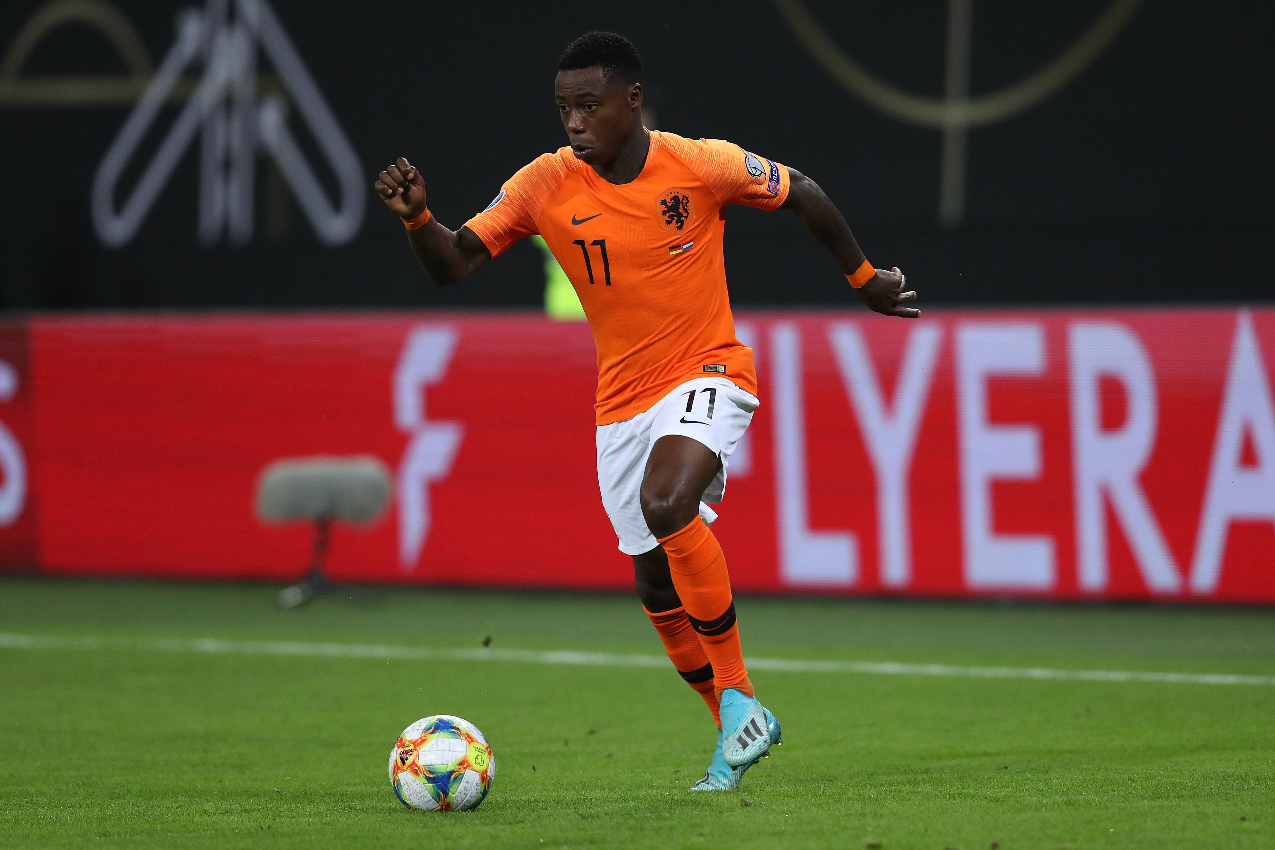 Quincy Promes on Arsenal's radar (Photo by Alexander Hassenstein/Bongarts/Getty Images)