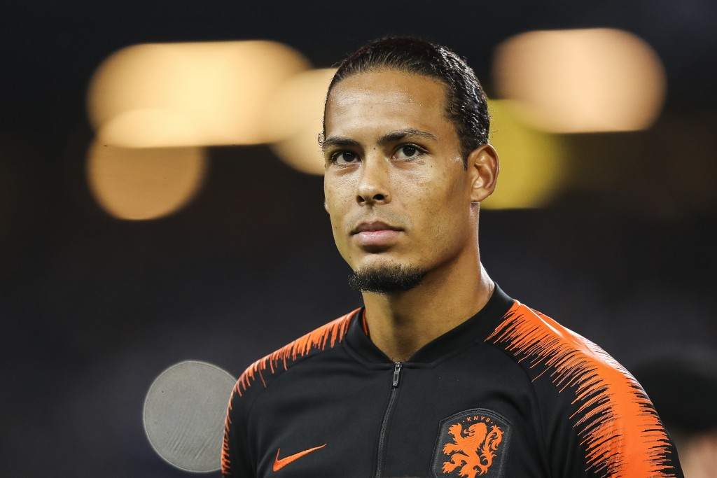 Virgil van Dijk is unavailable for Netherlands due to a long-term injury. (Photo by Maja Hitij/Bongarts/Getty Images)