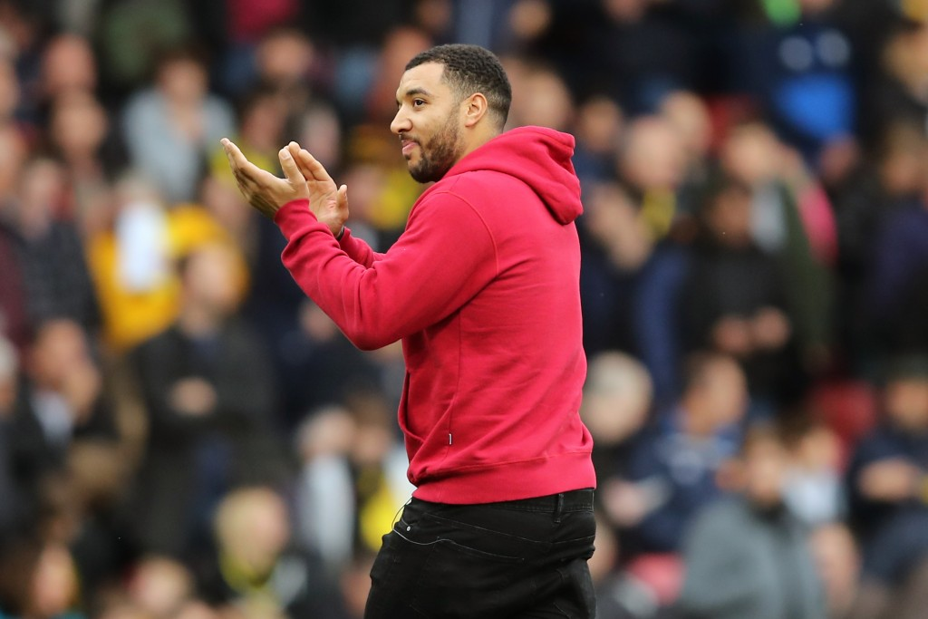 Watford captain Troy Deeney continues to be sidelined. (Photo by Marc Atkins/Getty Images)