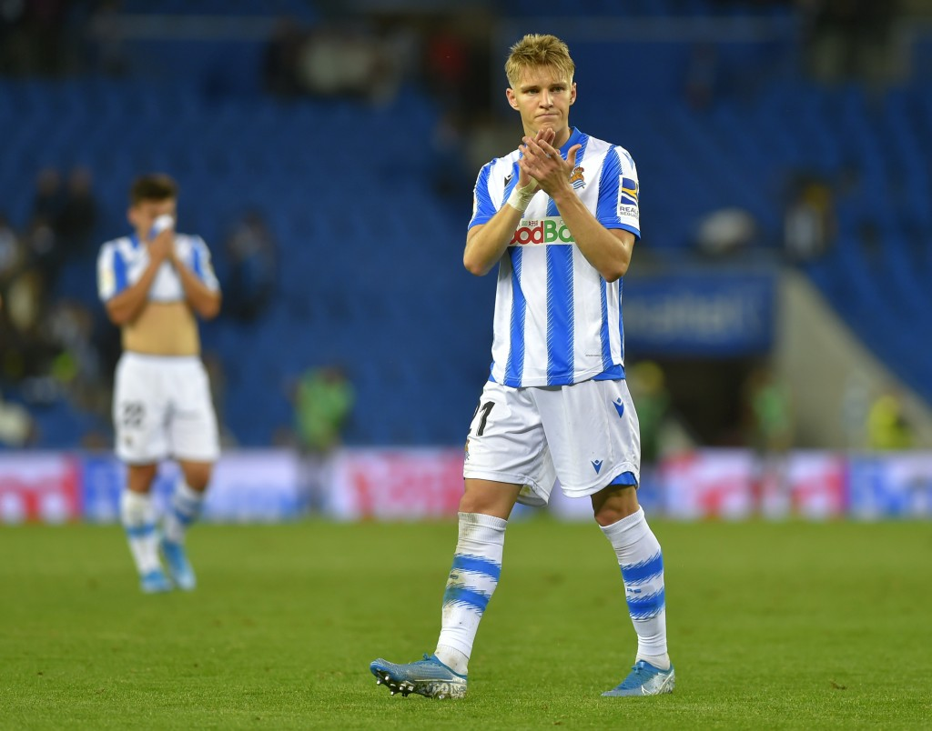 Will Odegaard's resurgence continue against his parent club? (Photo by Ander Gillenea/AFP via Getty Images)