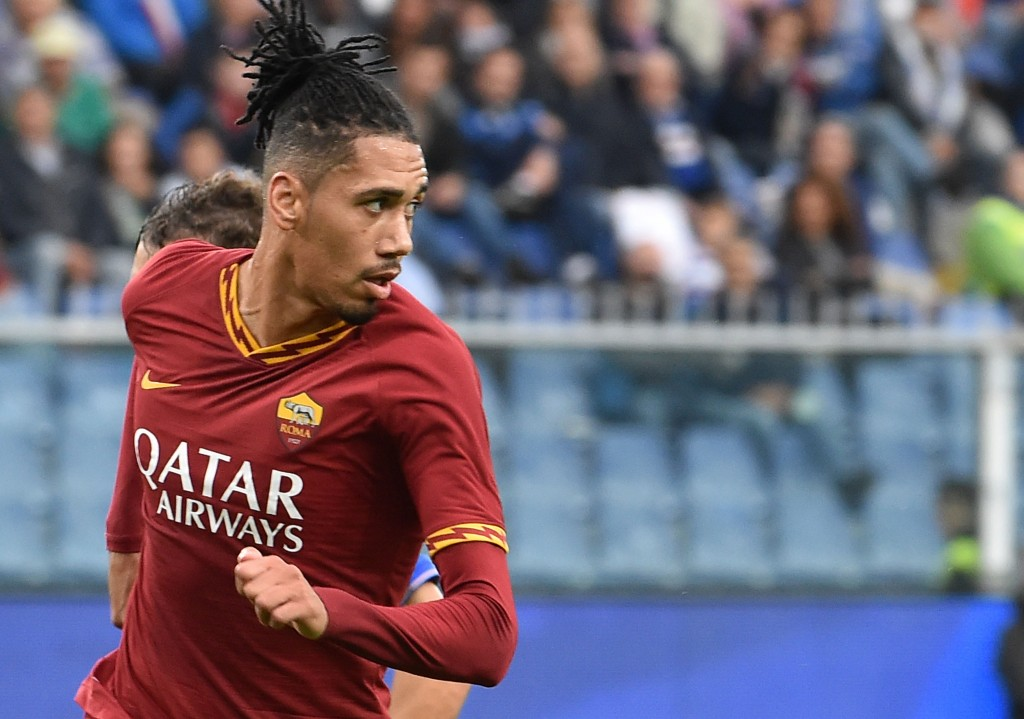 Smalling is shining at his loan spell with Roma. (Photo by Paolo Rattini/Getty Images)