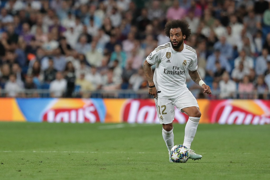 The fit again Marcelo is set to return. (Photo by Gonzalo Arroyo Moreno/Getty Images)