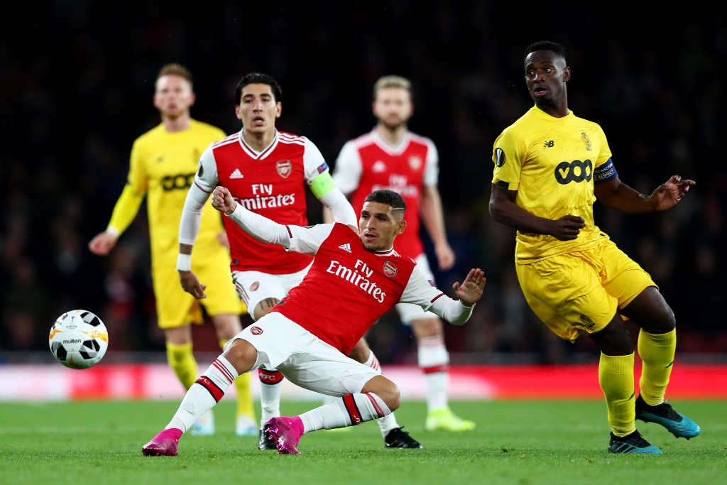 Arsenal have looked much more in control with Torreira playing. (Photo by Dan Istitene/Getty Images)