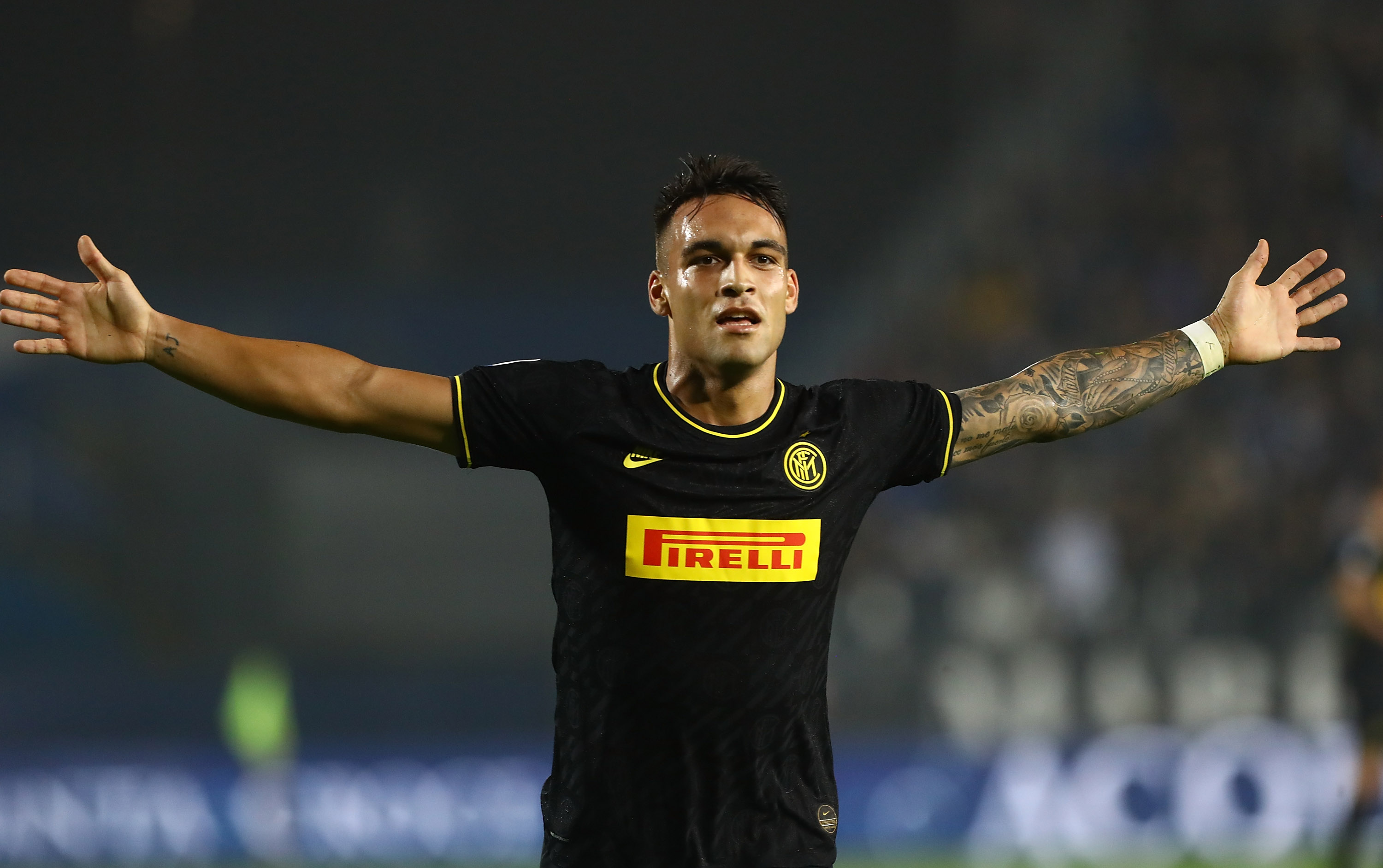 Lautaro Martinez is a man in demand (Photo by Marco Luzzani/Getty Images)